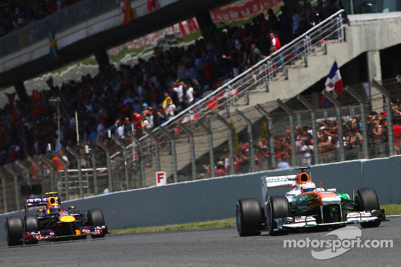 Points for Sahara Force India team at Barcelona