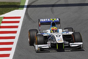GP2 Race report First points of 2013 for Barwa Addax Team in Spain