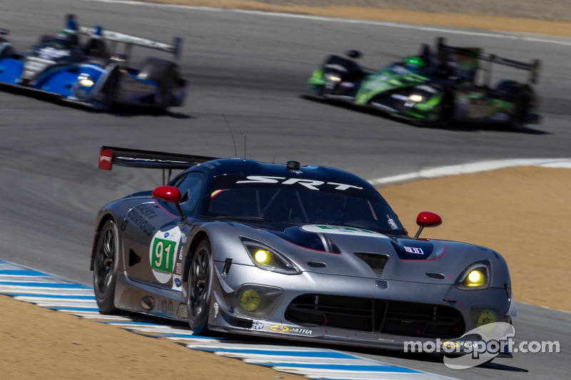 SRT Motorsports saw improvements at Laguna Seca