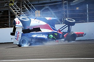 Daly first to hit wall; Munoz quick again on Thursday at Indy