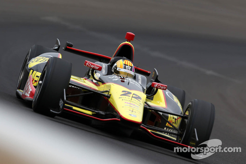 Servia finishes 11th in record-breaking Indianapolis 500