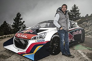 Hillclimb Breaking news French dress rehearsal for Pikes Peak - video