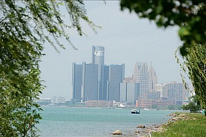 IndyCar Blog A Tale of Two Detroit Cities
