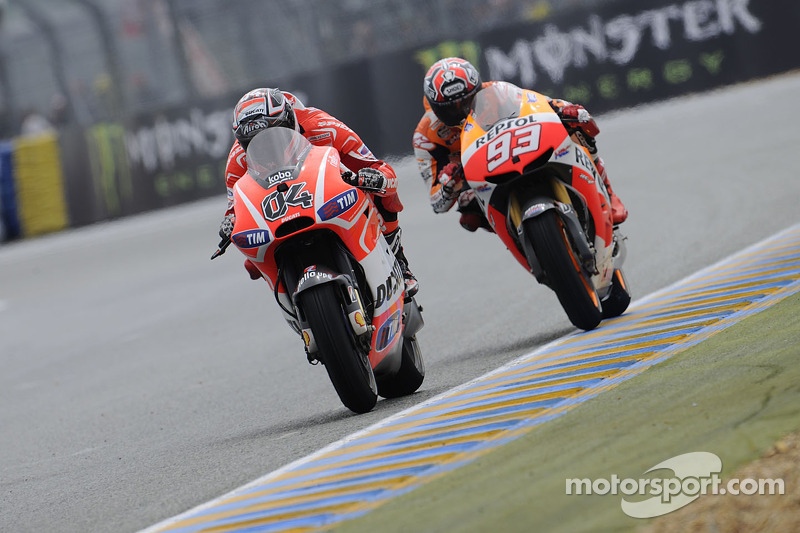 Hayden, Dovizioso seventh and eighth in Barcelona free practice