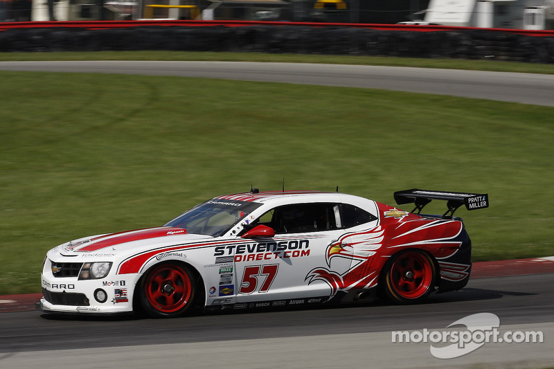 Stevenson Motorsports takes GT pole at Mid-Ohio