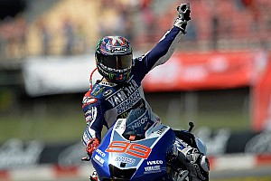 Lorenzo keeps cool in scorching conditions to win the Catalan Grand Prix