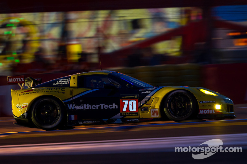 MacNeil has strong first stint in WeatherTech Corvette at Le Mans