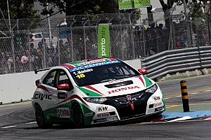 WTCC Race report Small rewards for hardworking Hondas on Races 1,2 in Porto