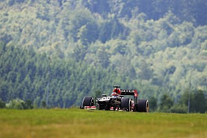 Räikkönen qualified fourth with Grosjean fifth for tomorrow's German GP