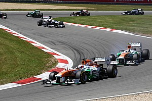 No points for Sahara Force India on German GP