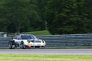ALMS Race report Bryce Miller and Marco Holzer 7th after race of hard knocks and high heat at Lime Rock