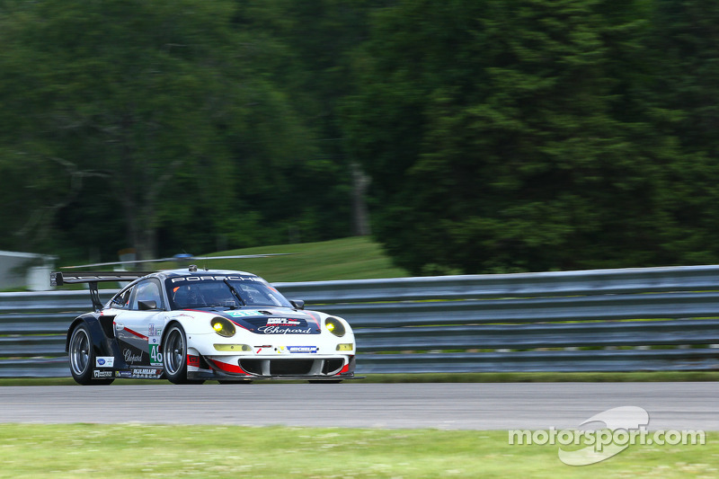 Bryce Miller and Marco Holzer 7th after race of hard knocks and high heat at Lime Rock
