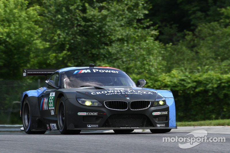 In a eventful race at Lime Rock, Martin and Auberlen finished in 4th place