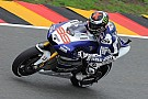Lorenzo retires following Sachsenring free practice crash