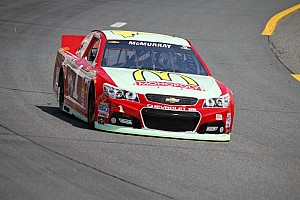 NASCAR Sprint Cup Breaking news Déjà vu: McMurray's accident in Cup practice mirrors Montoya's