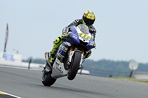 MotoGP Race report Yamaha's Rossi delivers in Germany for Sachsenring podium