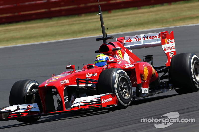 A positive outcome for Ferrari in YDT at Silverstone