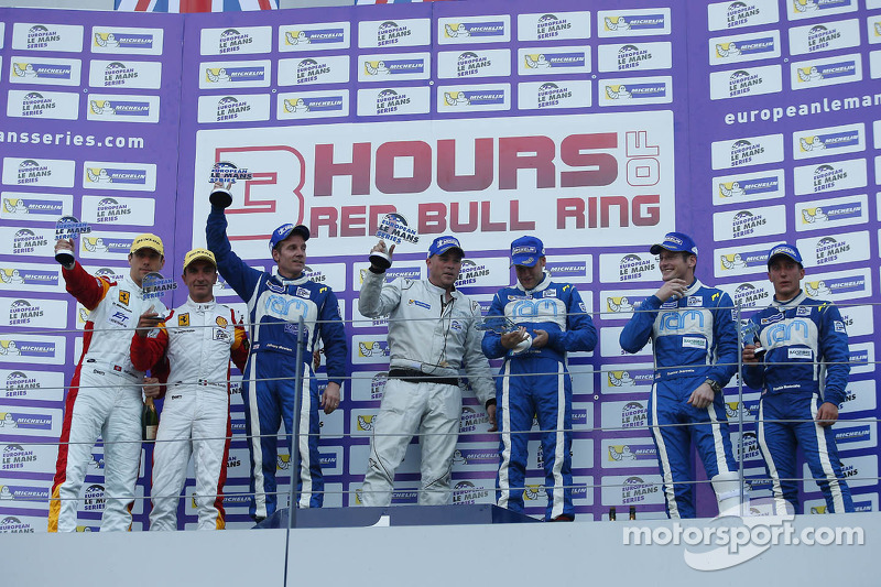 Another podium for Montecalvo and Jeannette in ELMS