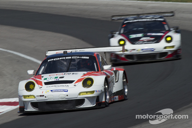 CORE autosport takes class victory and points lead at Mosport
