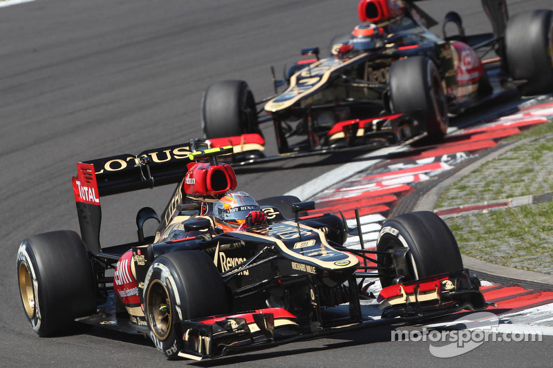 Interview with Lotus F1 drivers before Hungary