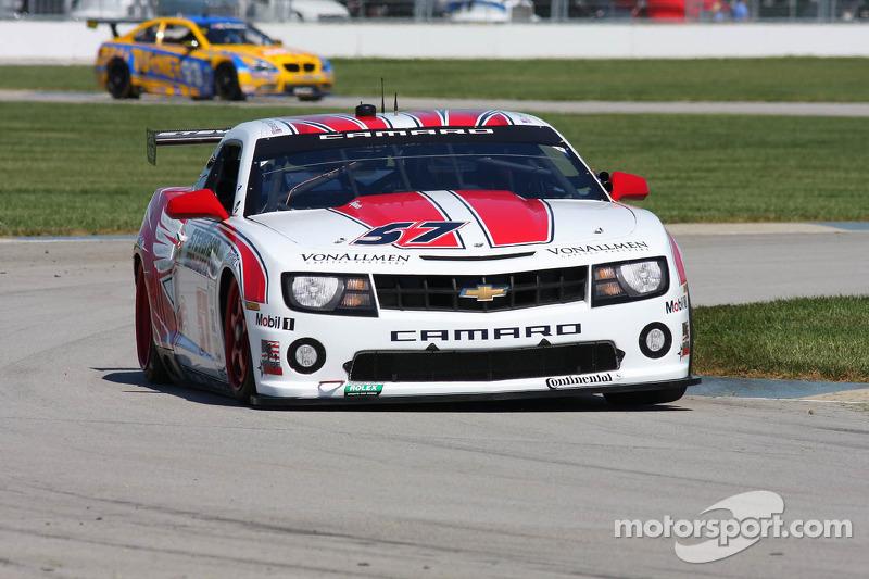 Stevenson Motorsports wins on GT class with runner-up finish in Brickyard Grand Prix