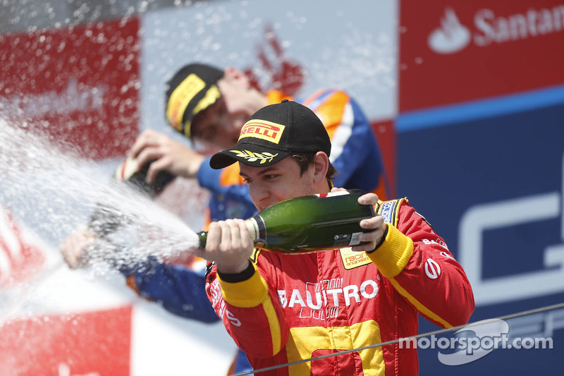 Leimer and Racing Engineering on the podium with 3rd place in the Hungaroring Sprint Race