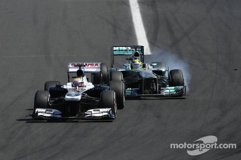 Williams' Maldonado finished 10th in today's Hungarian Grand Prix