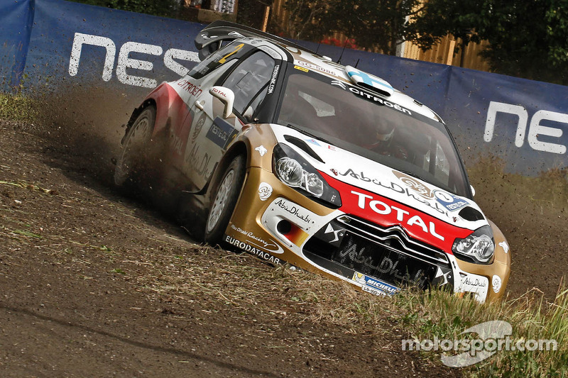 Citroen Racing fast and furious in Finland Day 1