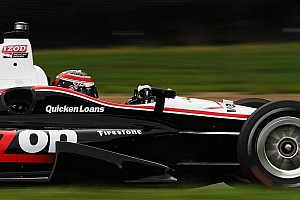IndyCar Practice report Will Power leads opening day of practice at Mid-Ohio