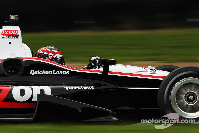 Will Power leads opening day of practice at Mid-Ohio