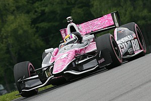 Servia finishes 17th in Pink Camo Chevrolet Friday during Mid-Ohio practice