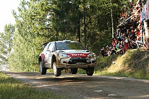 WRC Race report Citroën Total Abu Dhabi Team crew finished fourth in Finland