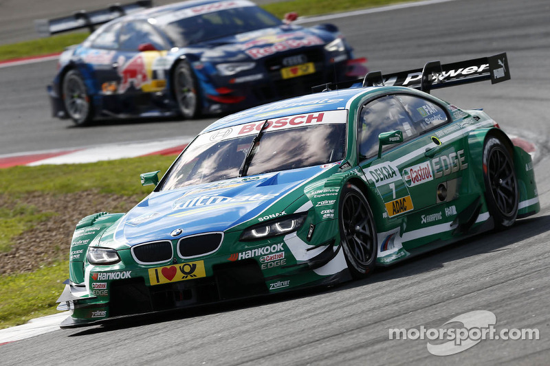 BMW's Farfus claims podium finish at series debut in Moscow.