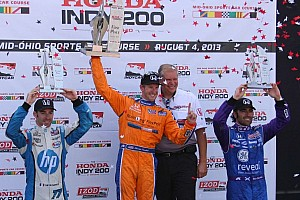 IndyCar Race report Kimball scores his maiden win at Mid-Ohio