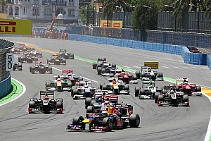 Formula 1 Breaking news Valencia left off FIA Formula One 2014 calendar