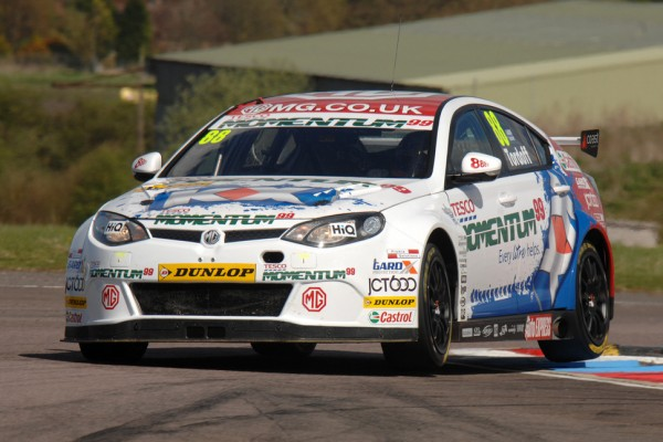 MG suffer from the highs and lows of the BTCC at Snetterton