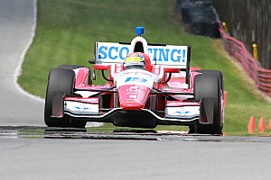IndyCar Race report Wilson takes top-10 finish at Mid-Ohio