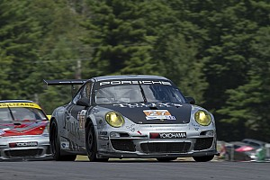 ALMS Practice report Patrick Dempsey, Andy Lally return to site of team's best 2012 finish at Road America