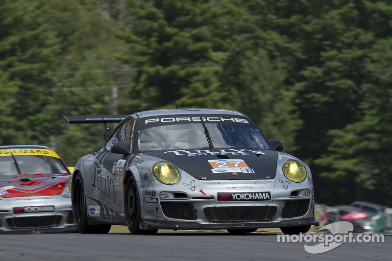 Patrick Dempsey, Andy Lally return to site of team's best 2012 finish at Road America