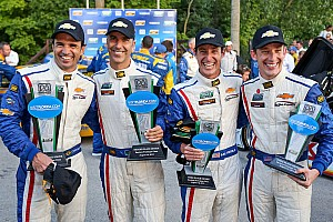 Grand-Am Race report Double podium for Action Express Racing at Road America
