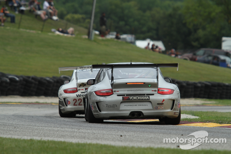 Dempsey Del Piero Racing 4th at Road America