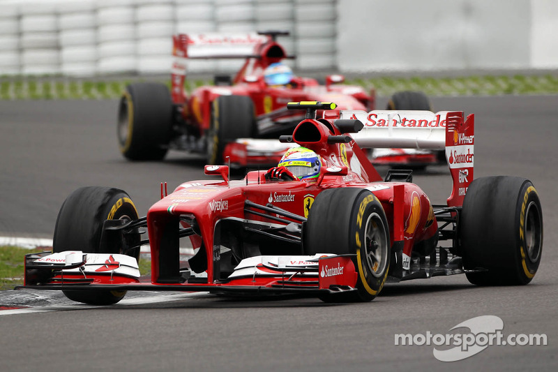 Silly-season spotlight shining on Ferrari