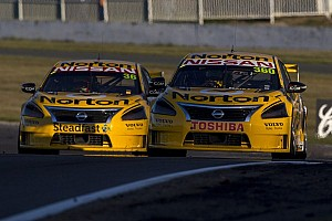 V8 Supercars Race report Nissan scores historic 1-2 at Winton 360