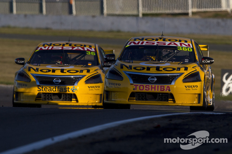 Nissan scores historic 1-2 at Winton 360
