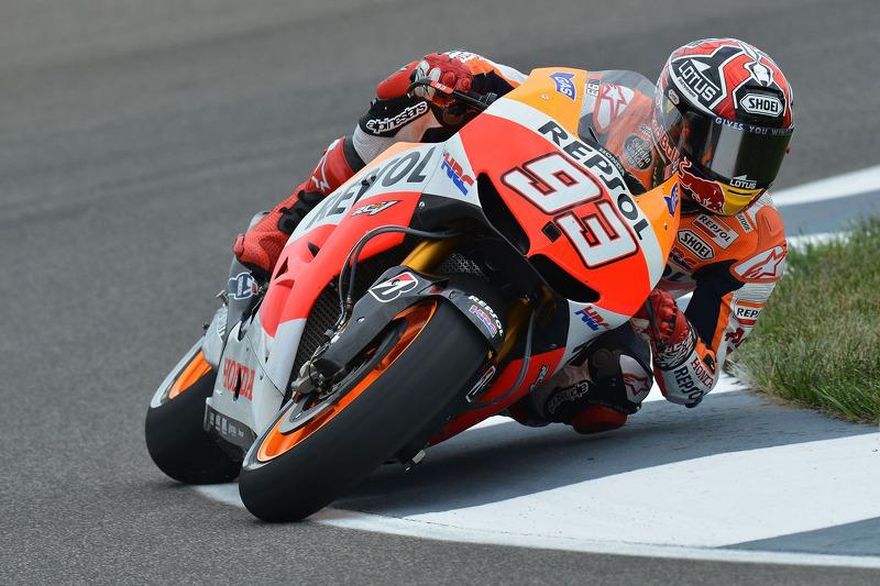 Marquez left annoyed by traffic in Brno qualifying