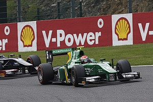GP2 Race report Rossi on the podium in Spa Feature Race