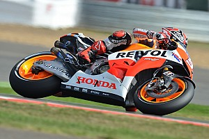 Bridgestone: Marquez obliterates lap record on way to pole position at Silverstone