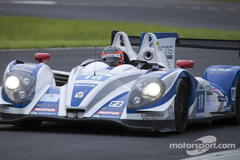 KCMG's driver James Winslow talks about his debut on Asian Le Mans Series