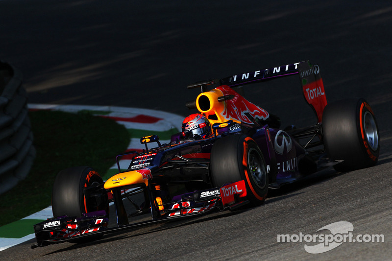 Red Bull had a positive Friday practice with the best time at Monza