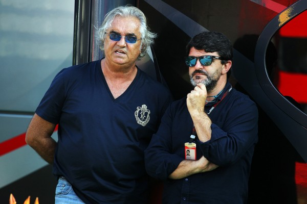 Briatore 'not looking for a job' on Monza visit